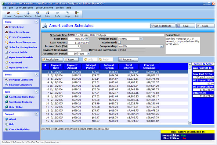 loan amortization program free